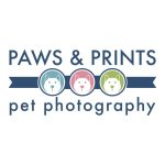 Paws and Prints Pet Photography Logo