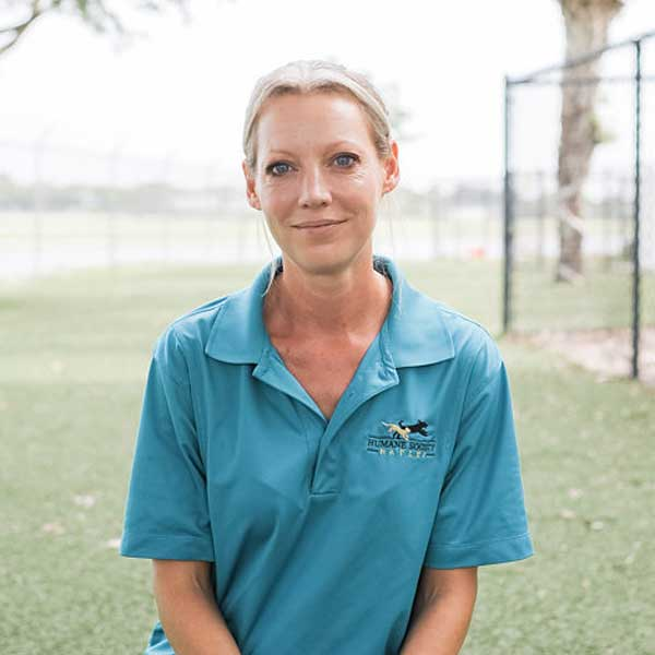 Bekah Coffing, Dog Behavorist at the Humane Society Naples | No Kill Shelter in Collier County Naples Florida