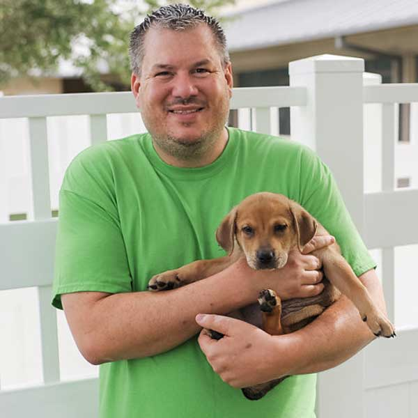 Brad Lippe, Facilities Manager at the Humane Society Naples | No Kill Shelter in Collier County Naples Florida