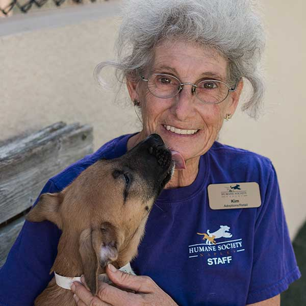 Kim Ferguson Shelter and Animal Care Staff Humane Society Naples Collier County No Kill Animal Shelter