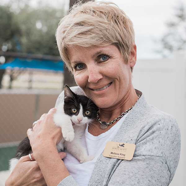 Melissa King, Executive Assistant of the Humane Society Naples | No Kill Shelter in Collier County Naples Florida