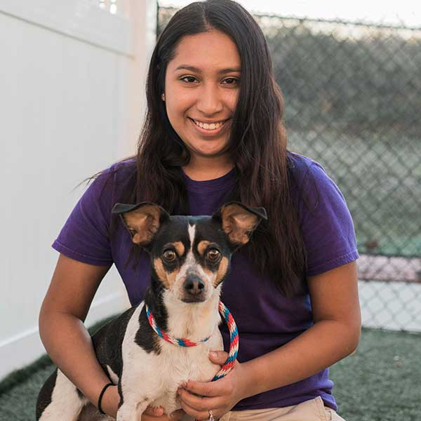 Yesenia Calixto Shelter and Animal Care Staff Humane Society Naples Collier County No Kill Animal Shelter